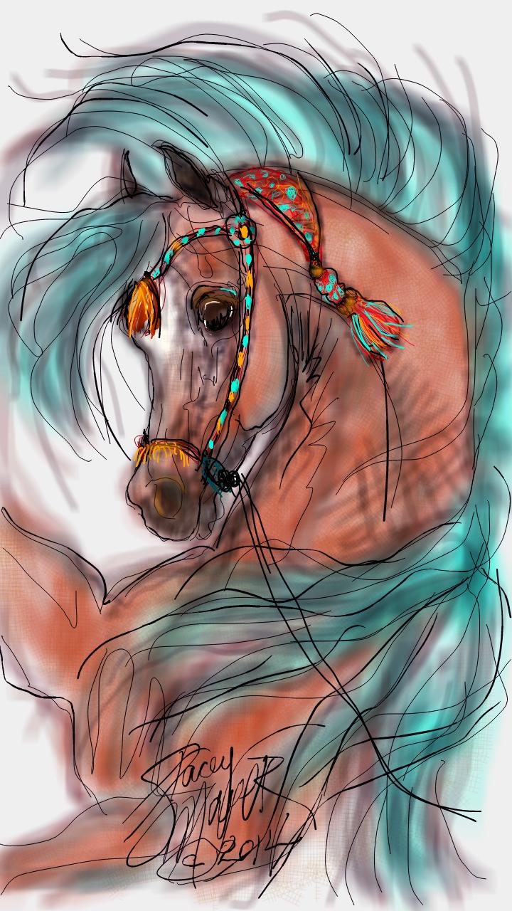 Russian Purebred               Arabian Horses